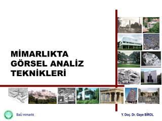 BaÜ mimarlık