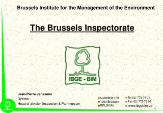 Brussels Institute for the Management of the Environment