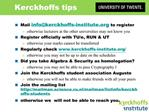Kerckhoffs Institute - design template