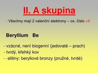 Beryllium   Be