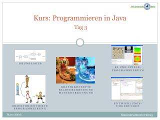 Kurs: Programmieren in Java Tag 3
