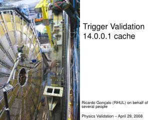 Trigger Validation 14.0.0.1 cache