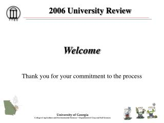 2006 University Review