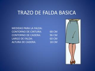TRAZO DE FALDA BASICA