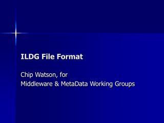 ILDG File Format