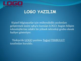 LOGO YAZILIM