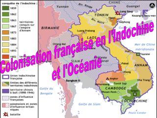 Colonisation française en l'Indochine et l'Océanie