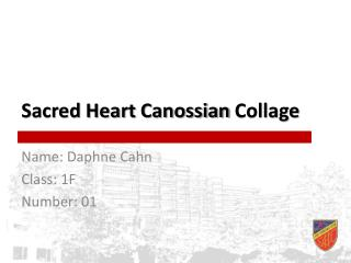 Sacred Heart  Canossian  Collage