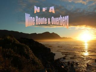 Wine Route & Overberg