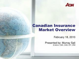 Canadian Insurance Market Overview