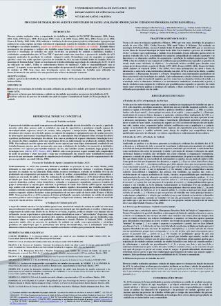 UNIVERSIDADE ESTADUAL DE SANTA CRUZ  (UESC) DEPARTAMENTO DE CIÊNCIAS DA SAÚDE