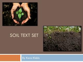 Soil text set