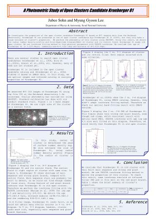 A Photometric Study of Open Clusters Candidate Kronberger 81