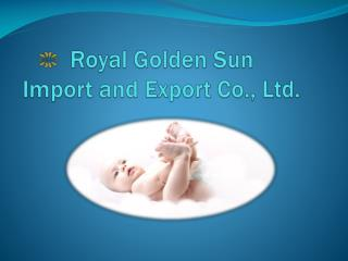 Royal Golden Sun   Import and Export Co., Ltd.