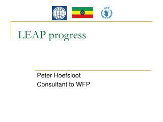 LEAP progress