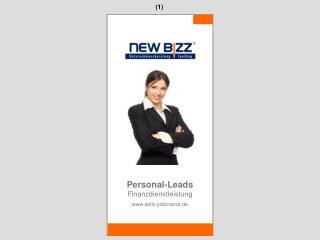 Personal-Leads Finanzdienstleistung aktiv-jobboerse.de