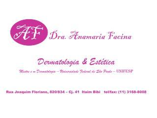 AF Dra.  Anamaria Facina