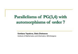 Parallelisms of PG(3,4) with automorphisms of order 7