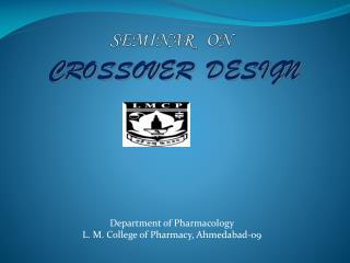 SEMINAR   ON CROSSOVER  DESIGN