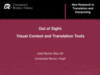 New Research in Translation and Interpreting