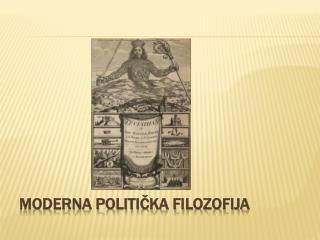 Moderna politička filozofija