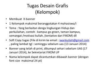 Tugas Desain Grafis (Kelompok)