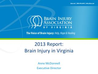 2013 Report: Brain Injury in Virginia