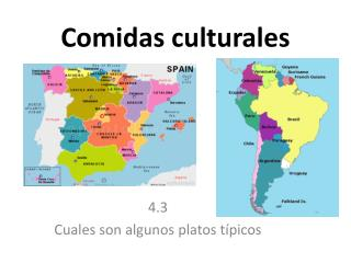 Comidas culturales