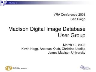 Madison Digital Image Database