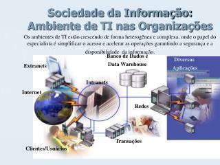 Sociedade da Informação: Ambiente de TI nas Organizações