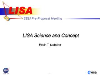 LISA Science and Concept