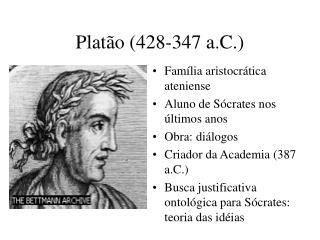 Platão (428-347 a.C.)