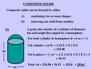 COMPOSITE SOLIDS