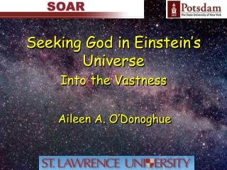 Seeking God in Einstein�s Universe