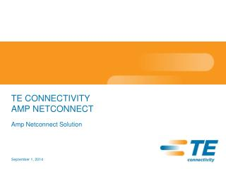 TE CONNECTIVITY  AMP NETCONNECT