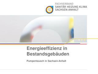Energieeffizienz in Bestandsgebäuden