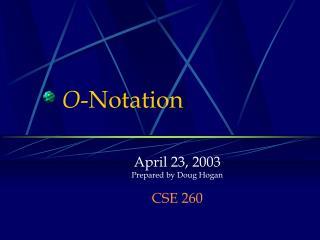 O -Notation