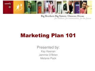 Marketing Plan 101
