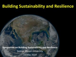 Building Sustainability and  Resilience