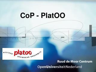 CoP - PlatOO