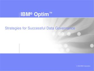 Strategies for Successful Data Governance