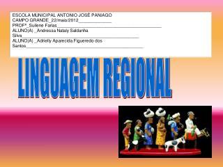 LINGUAGEM REGIONAL