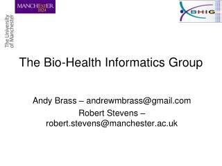The Bio-Health Informatics Group