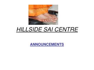 HILLSIDE SAI CENTRE