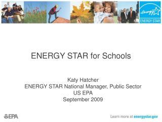 ENERGY STAR for Schools