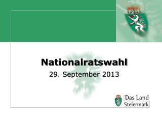 Nationalratswahl 29. September 2013