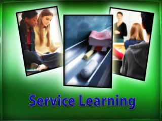 Learning About and From Service Learning