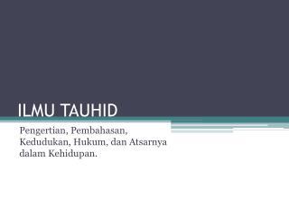 ILMU TAUHID