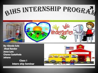 BIHS Internship Program