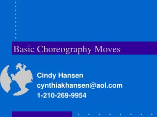 Basic Choreography Moves
